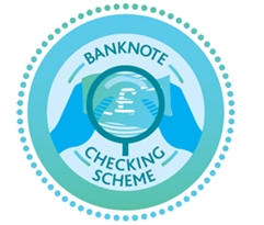 The new Banknote Checking Scheme from the Bank of England combats the distribution of counterfeit banknotes.