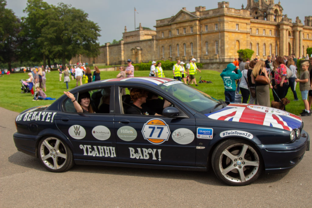 The Gold Members Car ready for the Twin Town Challenge | © Jasper Darby