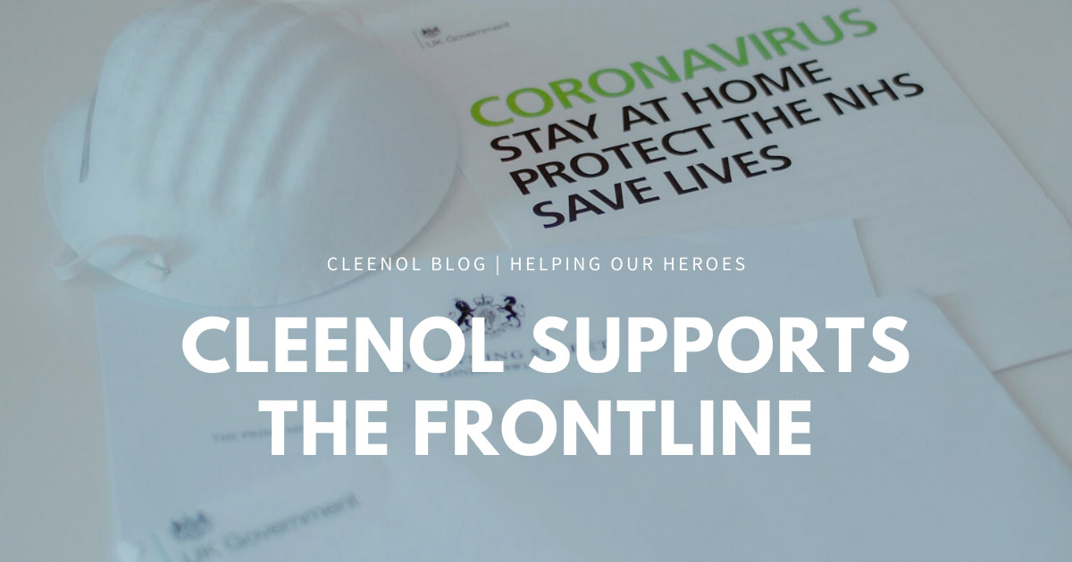 Cleenol supports the frontline