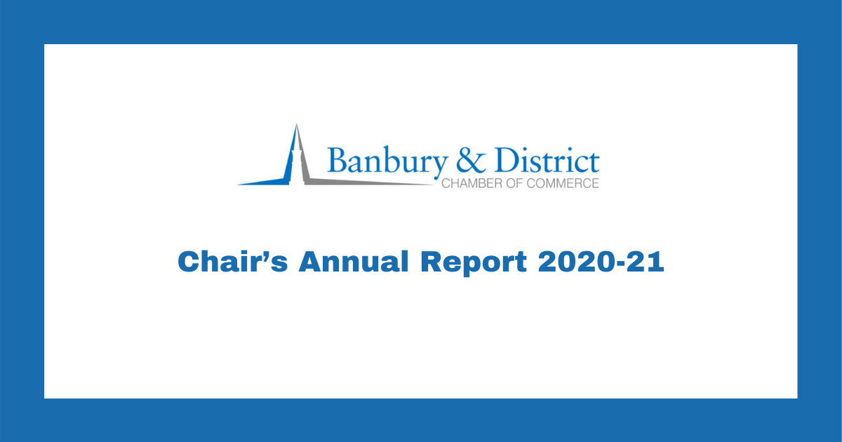 Chairs Annual Report